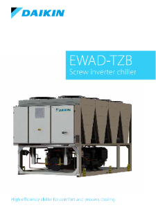 404 - EWAD-TZ B chiller series_Product profile